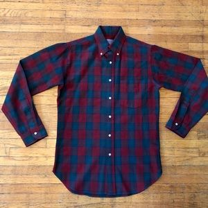"""Pendleton Vintage Wool """"Lindsay Tartan"""" Shirt, S"""